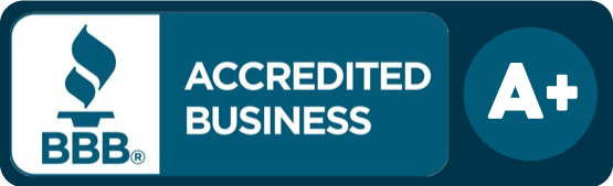 Accredited Business badge.
